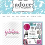 Adore Home magazine - Read