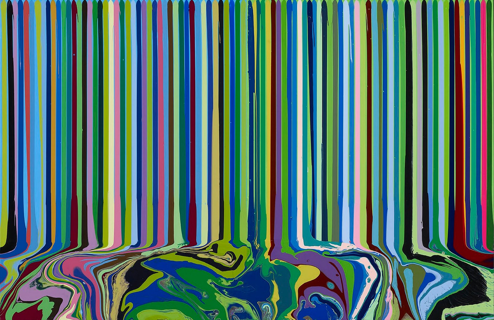 Ian Davenport Paintings For Sale